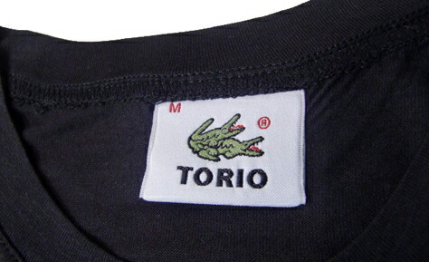 [10%OFF]TORIO/ワニTシャツ(ブラック) トリオ