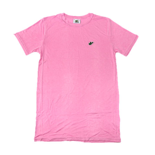 [10%OFF]TORIO/ワニTシャツ(ピンク) トリオ