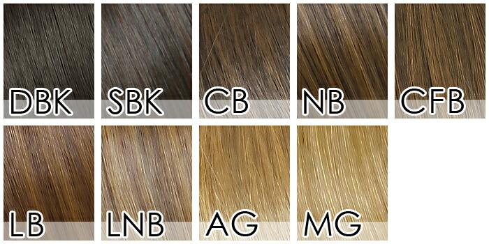 前髪ウィッグ[wgt011]カラーチャート001