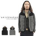 The unAffected - アンアフェクテッド - knit x corduroy batting best★★◆◆