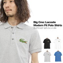 France LACOSTE - Lacoste - BIG LACOSTE MODERN FIT POLO - ビッグラコステ modern fit Polo ★ ★ ◇ ◇