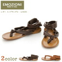 EMOZIONI - エモジオニ - leather thong sandals ☆ ☆ ◇ ◇
