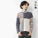 Audience - audience - Sangre JQ × NEP cable knit patchwork ★ ★