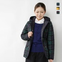 TRADITIONAL WEATHERWEAR - wool tweed checked pattern quilting jacket☆☆