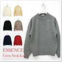 ESSENCES - essences - crew neck knit ☆ ☆ ◆ ◆