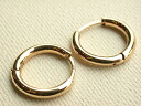 From the simple every day want! K14WG hoop earrings
