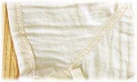 ベビー服の縫い目
