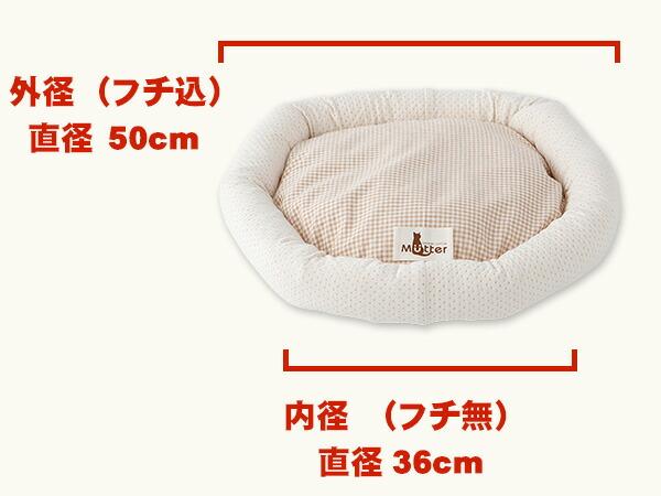 猫のベッドのサイズ