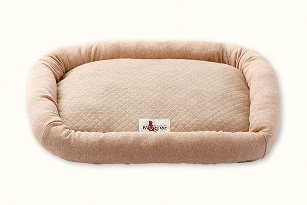 オーガニックコットンの猫のベッド