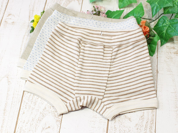 Boxer panties of the child service organic cotton