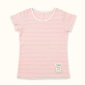 子供半袖肌着Tシャツ(ピンク)