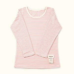 子供長袖肌着Tシャツ(ピンク)