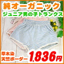 Kids boys underwear ( 120.130 and 140.150 cm ) Kid's children and atopic skin-friendly organic cotton trunks TRUNKS