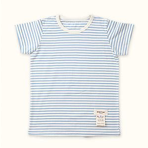 子供半袖肌着Tシャツ(ブルー)