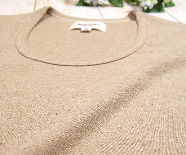 オーガニック製長袖Tシャツ