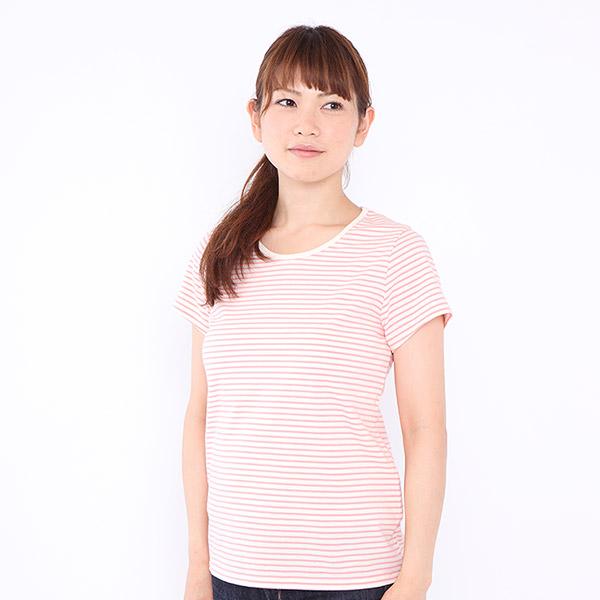 オーガニックコットンの半袖Tシャツ
