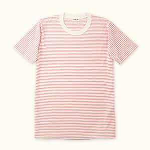 メンズ半袖Tシャツ(ピンク)