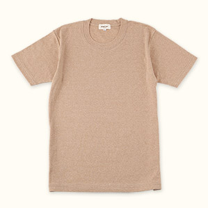 メンズ半袖Tシャツ(ブラウン)