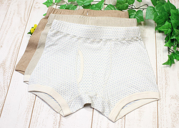 Organic 製 men boxer underwear