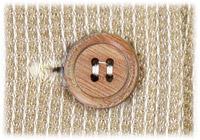 パジャマの木製ボタン