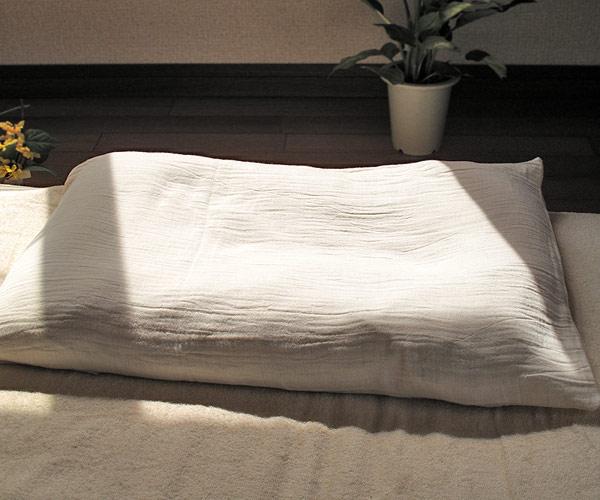 オーガニックのタ二重ガーゼ生地枕カバー