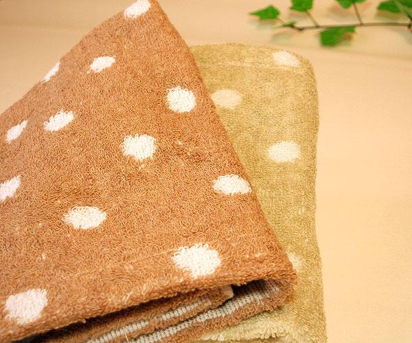 オーガニックコットン製タオル