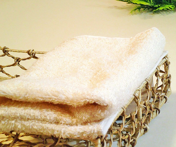 Hand towel gift of the organic cotton