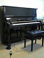 カワイピアノに消音キット
