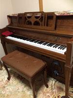 カワイピアノ KL11WI