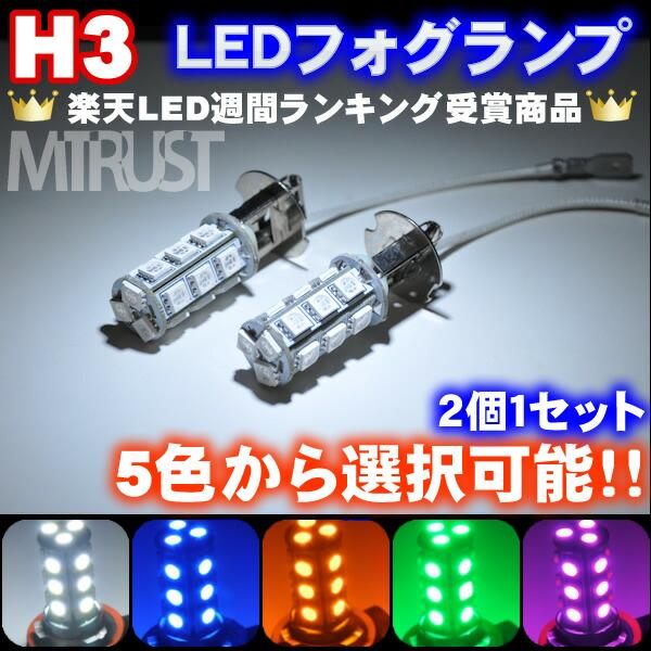 LEDフォグランプ H3