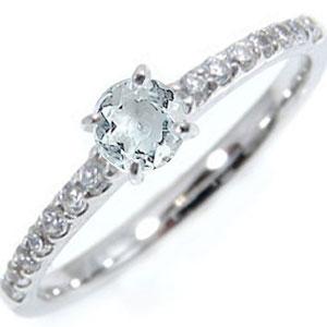 铂金戒指:海蓝宝石:钻石:0