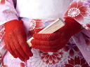 The fashionable summer ♪ short Lace Gloves (all 6 colors)