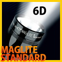 (Maglite) MAGLITE (スタンダードマグ light) STANDARD 6 CELL 6 d (D 6-cell)