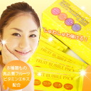 ★ ranking # 1 ★ bath with easy ♪ pore zero with amazing bubbles! Wrinkles care. clarity UP! 3-Foam-free fruit Pack!