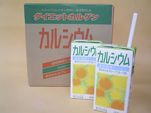 Entering one case of calcium (Citrus natsudaidai & grapefruit taste) /12 book