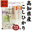 26 years of Kochi Prefecture, Koshi Hikari 10 kg (5 kg x 2 bags)