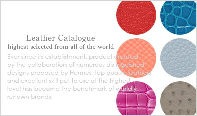 HERMES Leather Catalogue:highest selected from all of the world