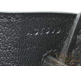 エルメスバーキン25ブラックトゴシルバー金具
