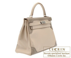 hermes kelly grey
