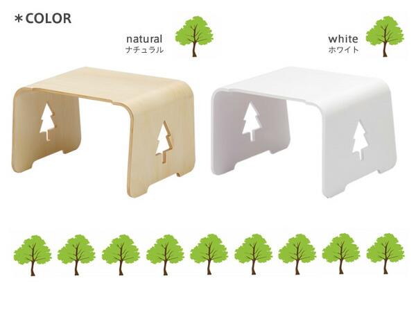 キッズ用木製テーブル/もりのつくえ