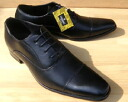 LASSU and FRISS BRONZE LABEL business shoes straight tip 939-BLACK