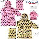 Face pattern ☆ raincoat (80 cm-130 cm) q SS-LL q (rain Kappa)