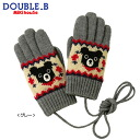 Nordic pattern five finger gloves (3 years - 9 years of age) upup7 apap8.