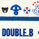 upup 7 double B ★ marine non-twisted threads kid's beach towel ★ upup7 apap8