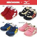 . 미키 하우스 및 미즈노에서 협업 아기 신발 (13-16cm)