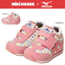 ■ Miki Miki & Mizuno ★ collaboration ドットセカンド baby shoes (12.5-15.5cm)