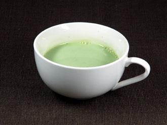 抹茶ラテ ホットで飲む