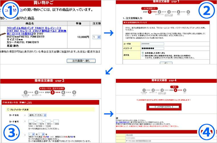 【IMAGE 6】注文画面 (※実際の入力画面と異なる場合がございます)