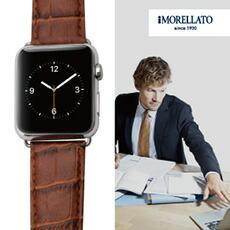 当店人気NO.1の時計ベルトをアップルウォッチに!モレラート牛革時計ベルト ボーレ