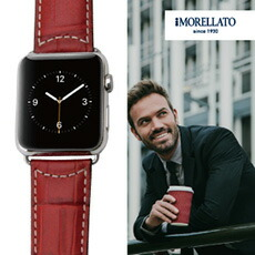 トスカーナレザーでビジネスにも安心!モレラート牛革交換用時計ベルト グットゥーゾ